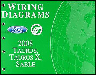 2008 ford taurus x manual