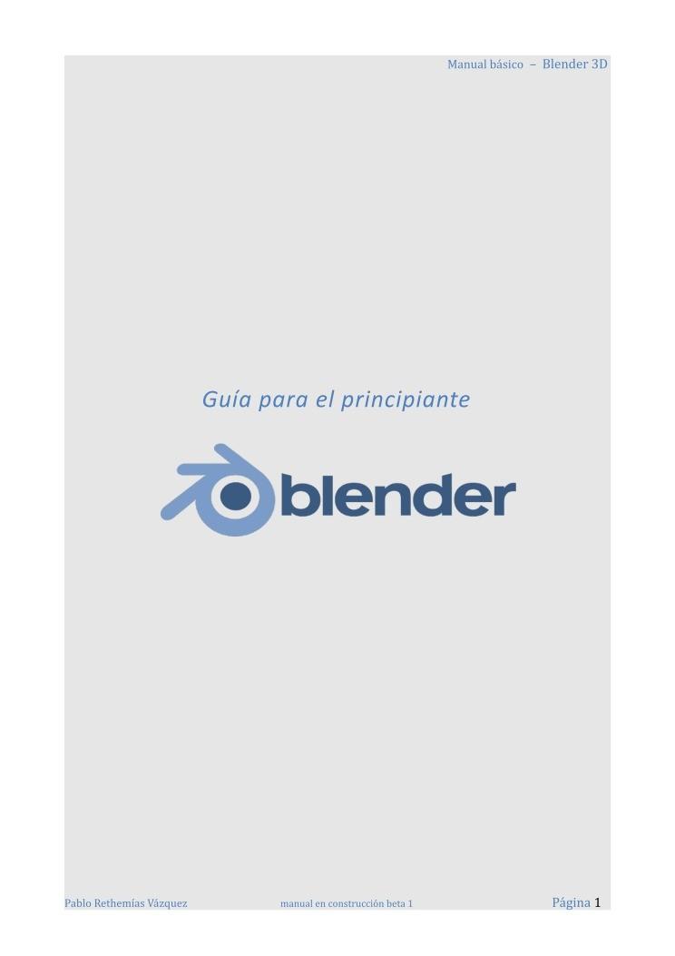 blender 2.79 manual pdf