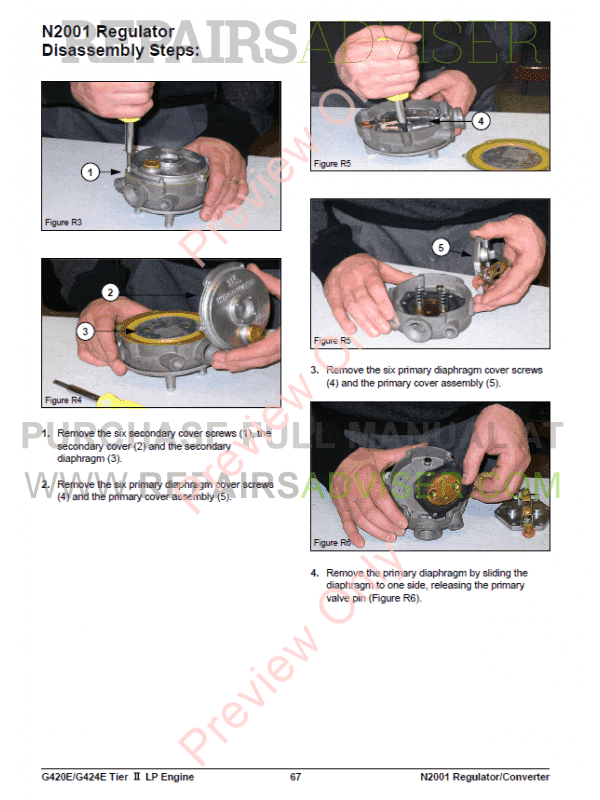 daewoo gc25s forklift service manual