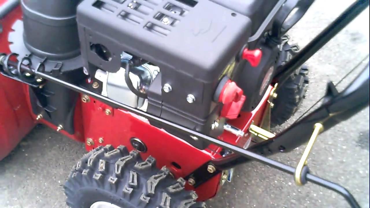 murray snowblower 8hp 27 inch manual