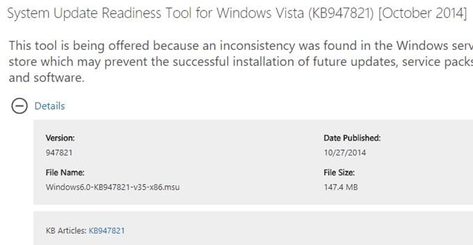 install windows vista updates manually