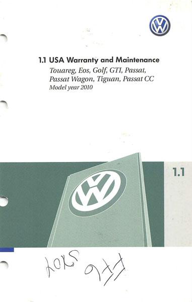 2010 volkswagen cc owners manual download