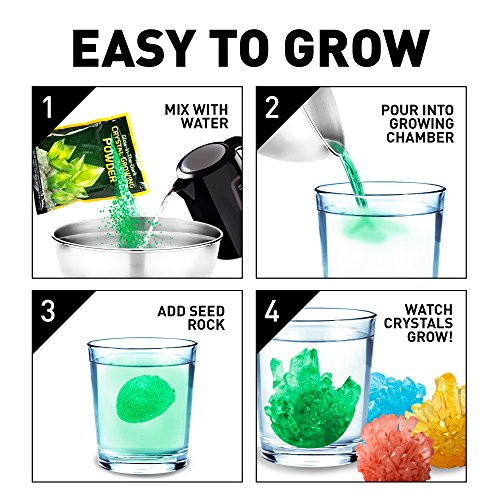 ultimate crystal growing kit instruction manual