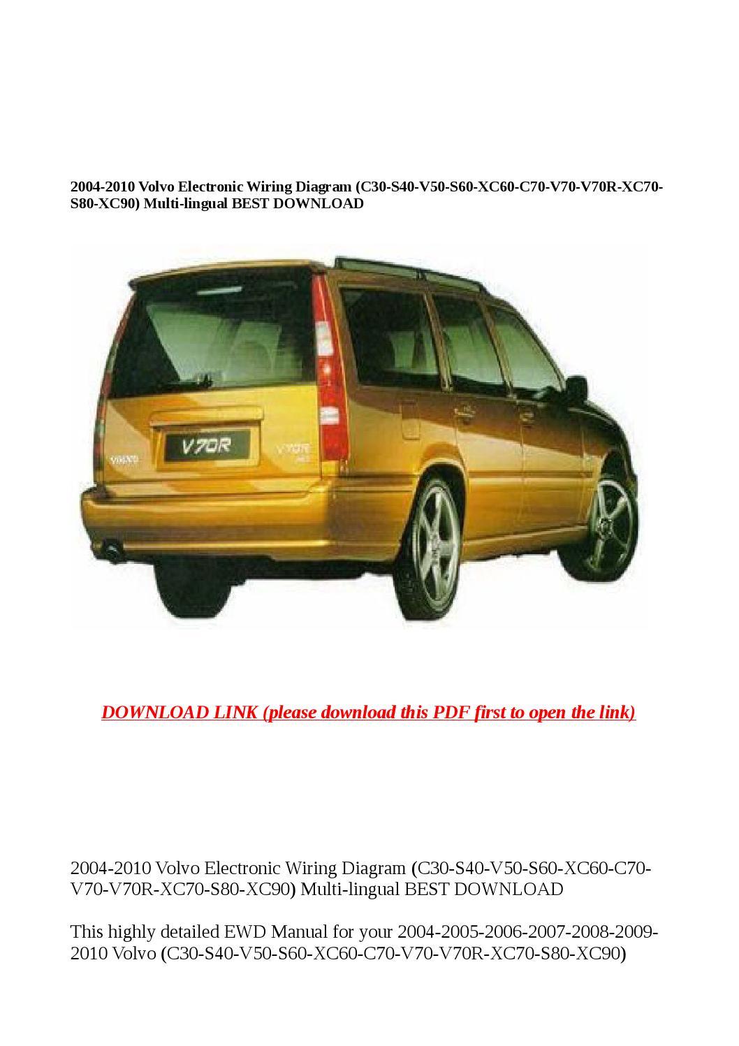2006 volvo xc90 repair manual pdf
