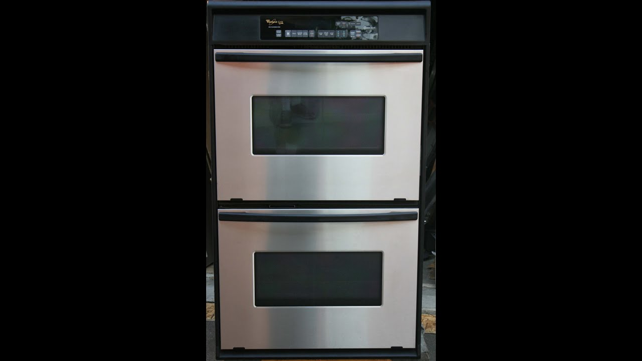 whirlpool gold series double oven manual
