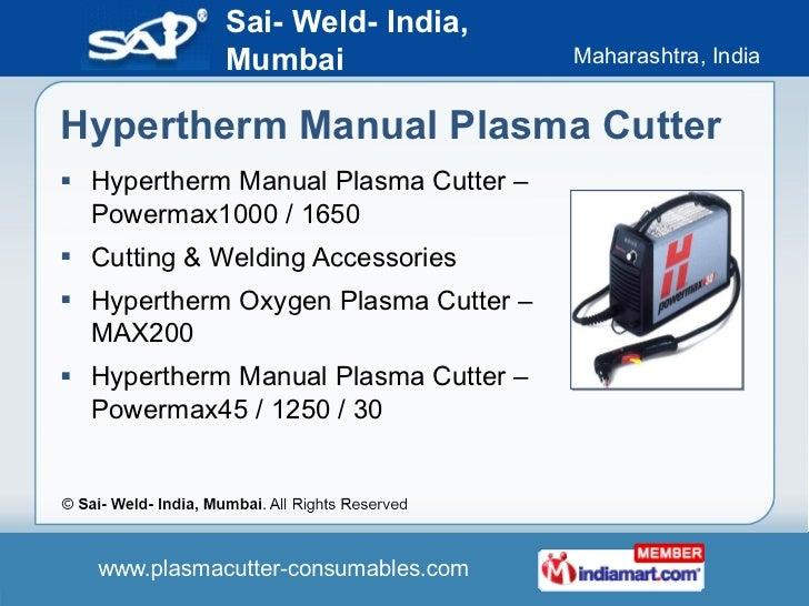 powermax 1250 g3 series manual