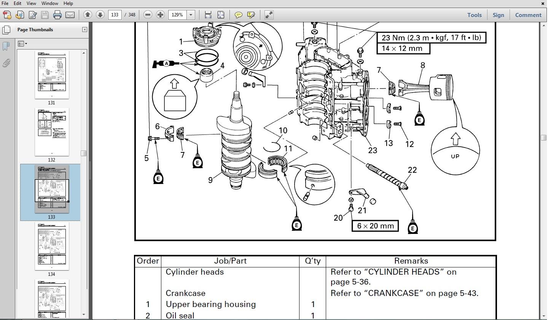 yamaha 15 hp service manual
