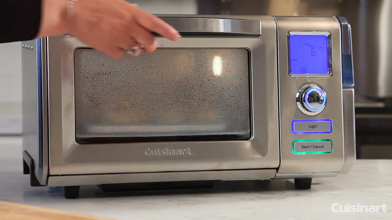 cuisinart digital convection toaster oven manual