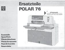 polar 76 em service manual
