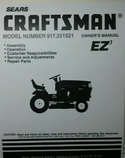 craftsman lawn tractor manual 944