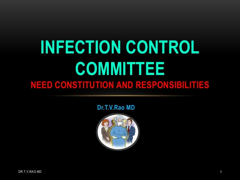 infection control policy and procedures manual