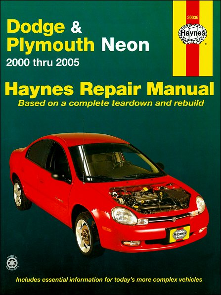 2000 dodge neon manual transmission