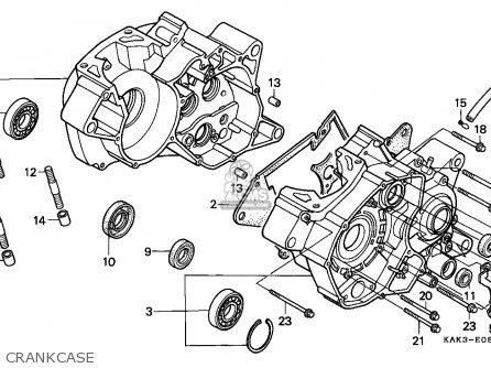 honda xrm 125 parts manual