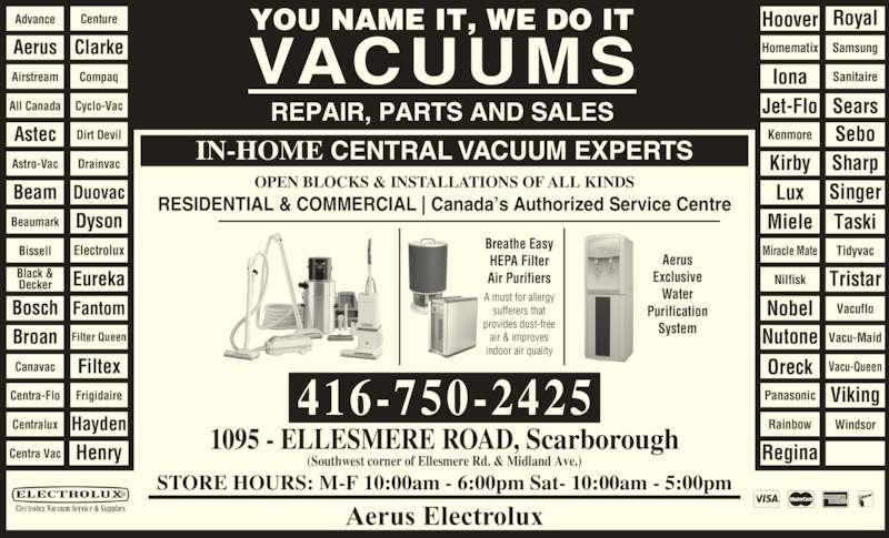 electrolux vacuum cleaner repair manual