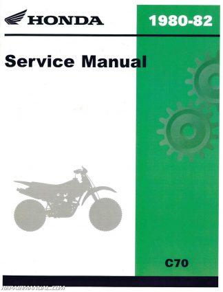 1982 honda xr200r service manual download