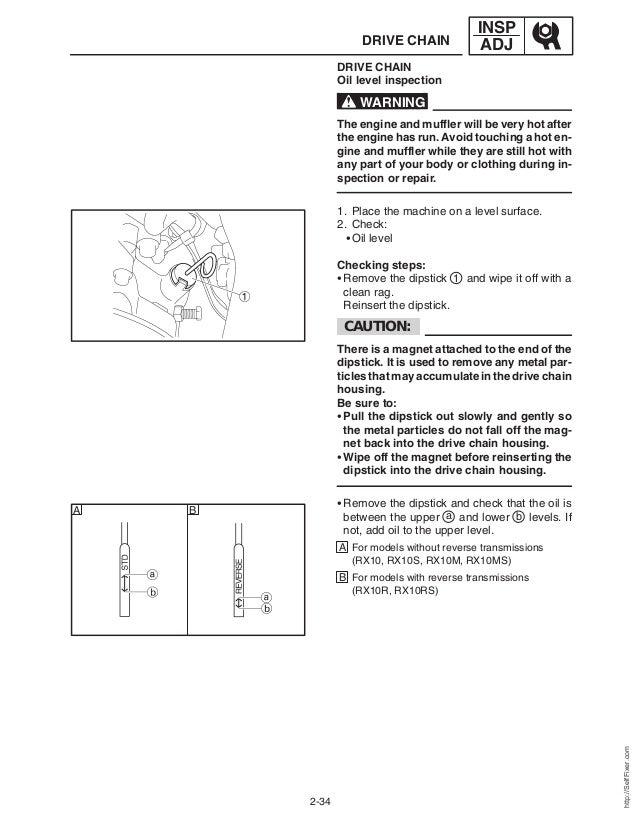 2006 yamaha apex service manual