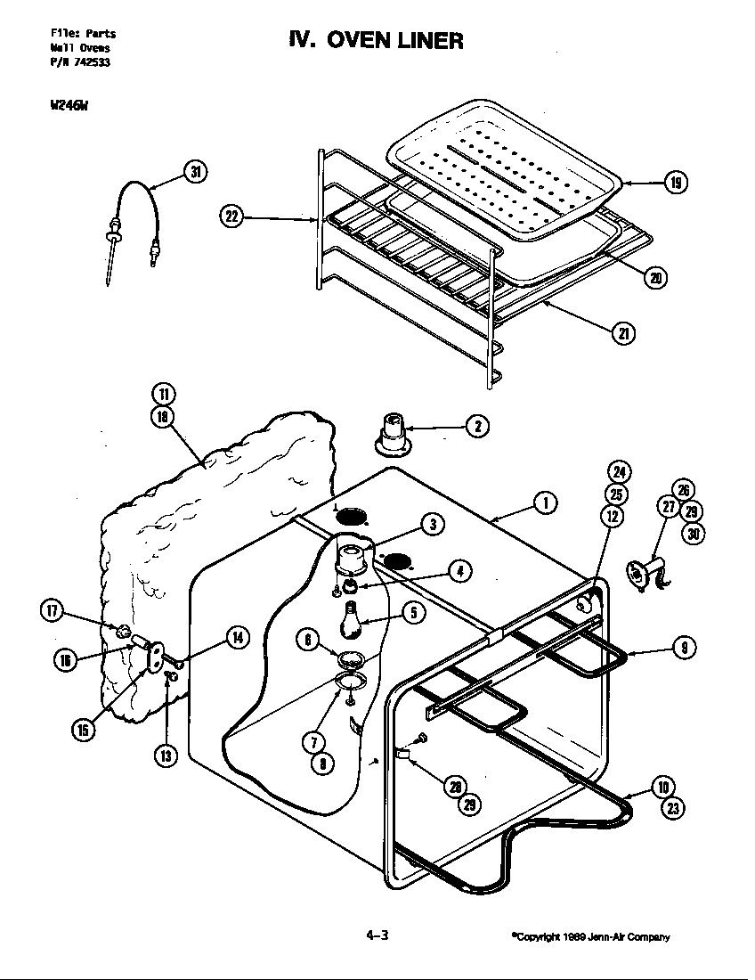 jenn air oven repair manual