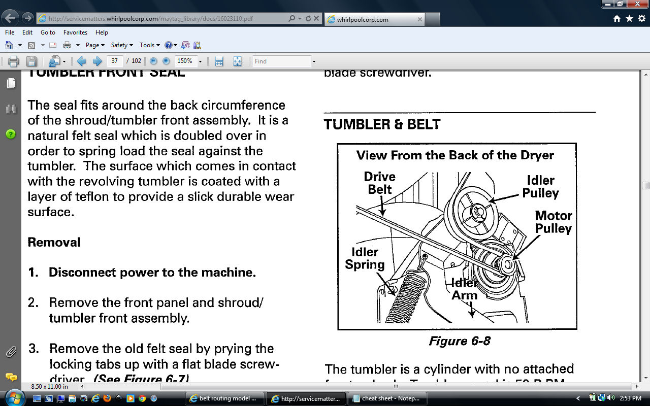 maytag neptune dryer mde9700ayw service manual