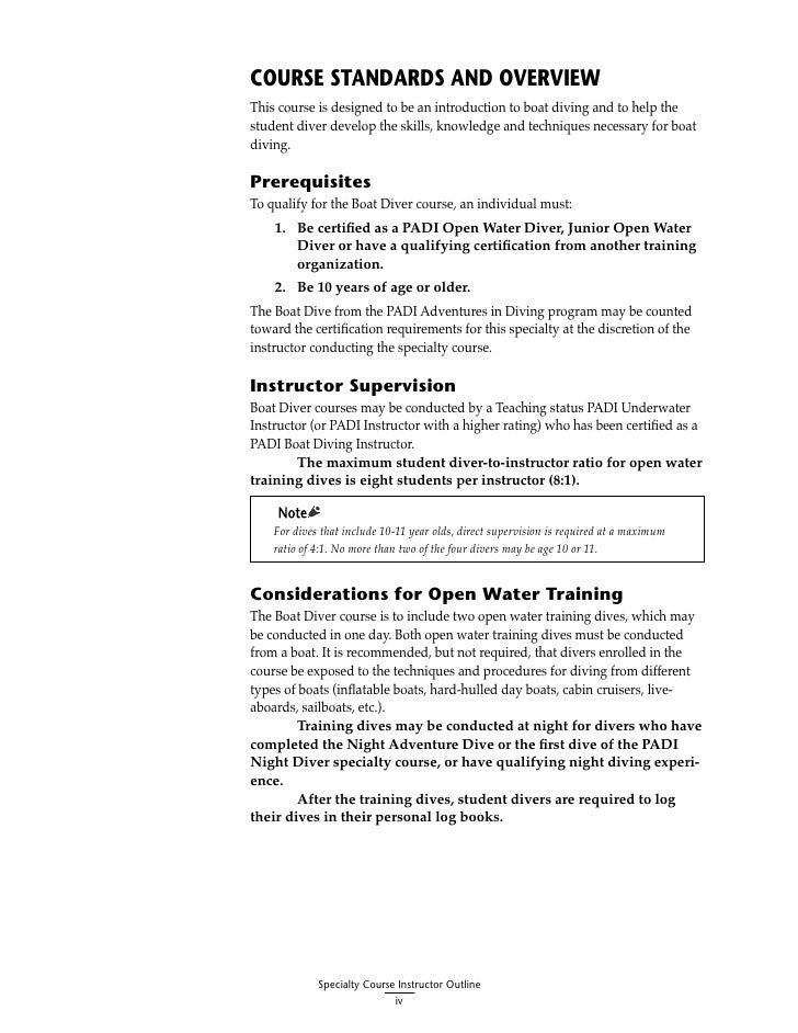 open water diver manual answers