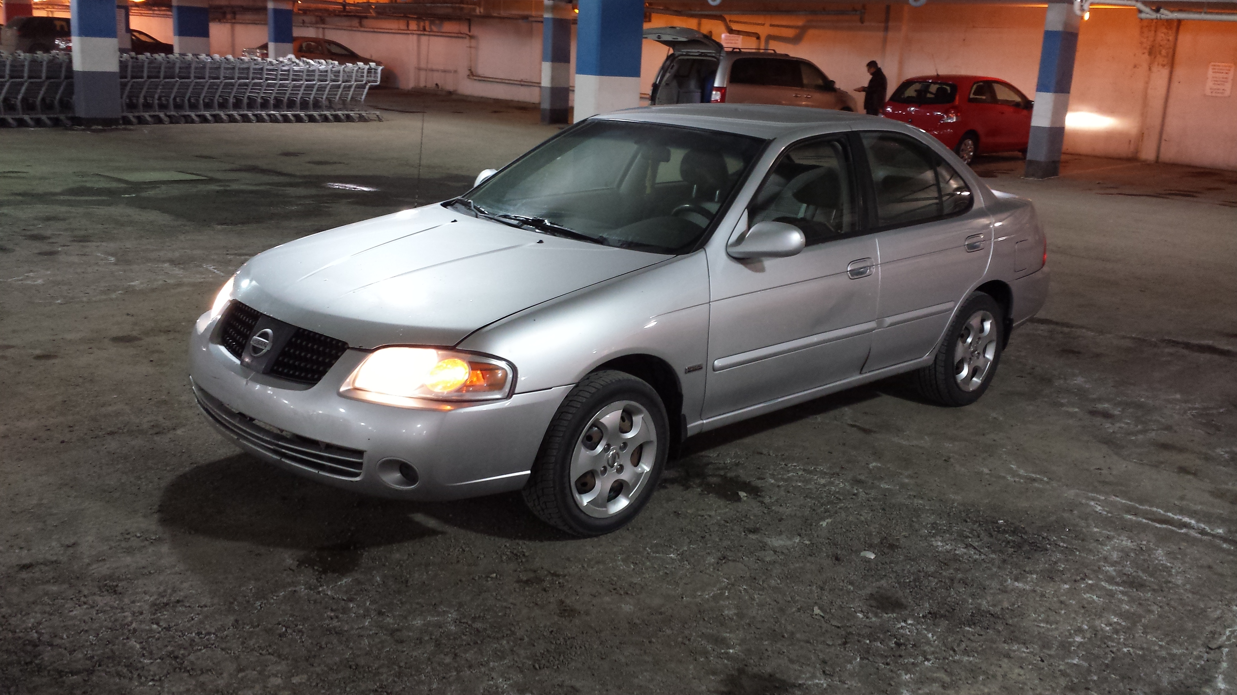 2006 nissan sentra 1.8 s special edition manual