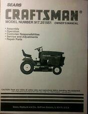 craftsman lt1000 parts manual pdf