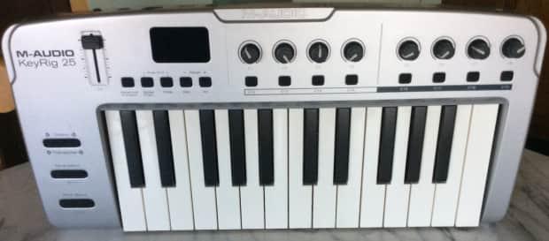 m audio keystation 61es manual