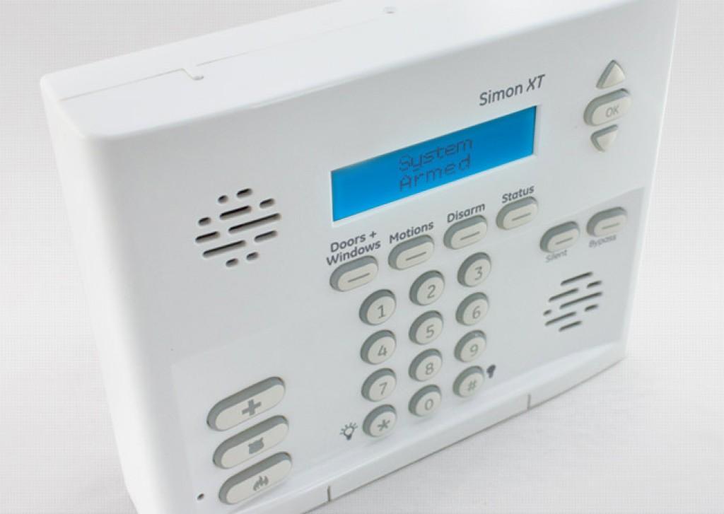 simon ge alarm system manual