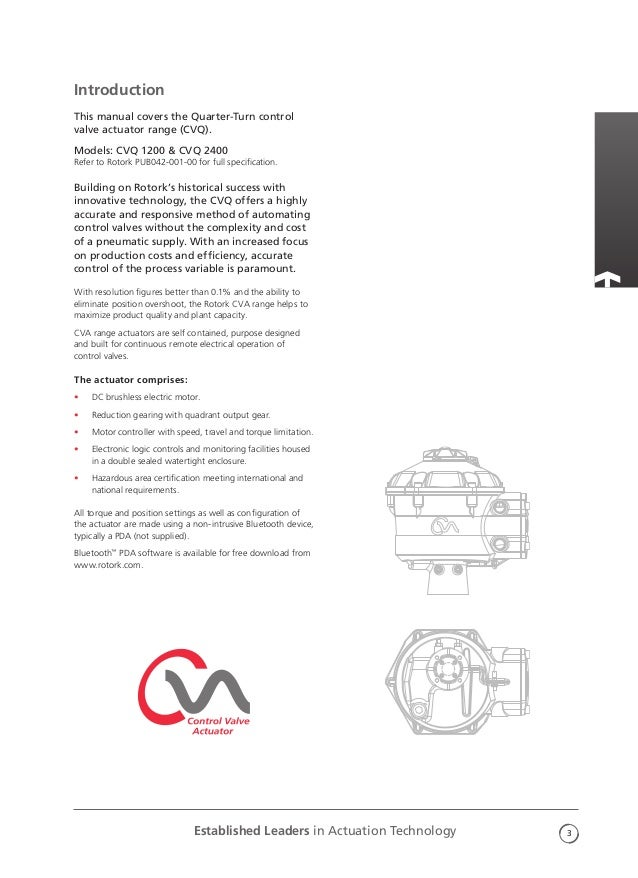 rotork a range actuator manual