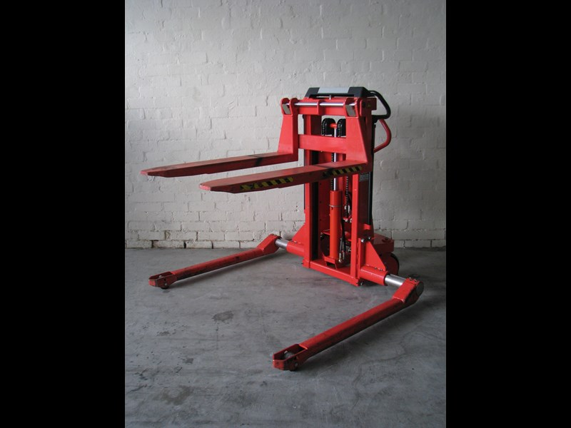 used manual pallet stacker for sale
