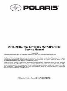 2016 polaris rzr 1000 service manual