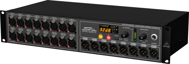 behringer s16 digital snake manual
