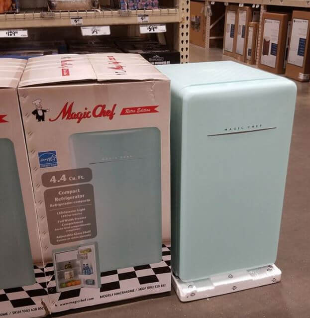 magic chef mini fridge 4.4 manual