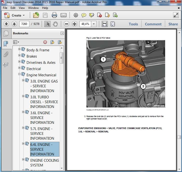 2014 jeep grand cherokee service manual pdf