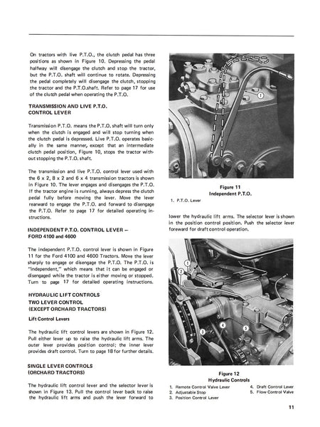 ford 3600 tractor service manual