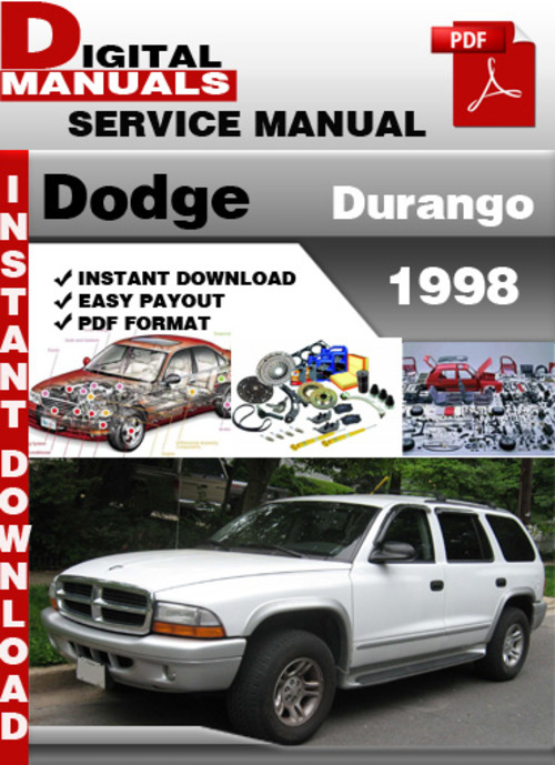 2005 dodge durango owners manual