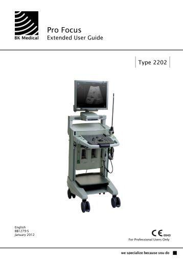 bk medical flex focus 800 manual