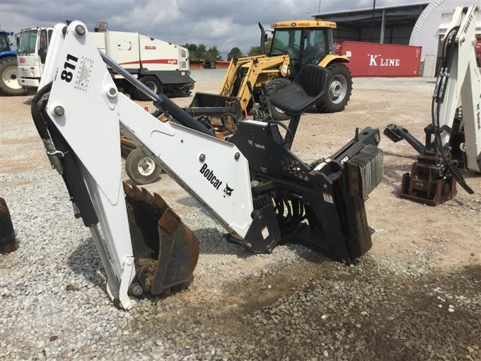 bobcat 811 backhoe attachment manual