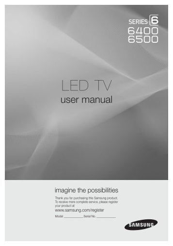samsung 46 led tv manual