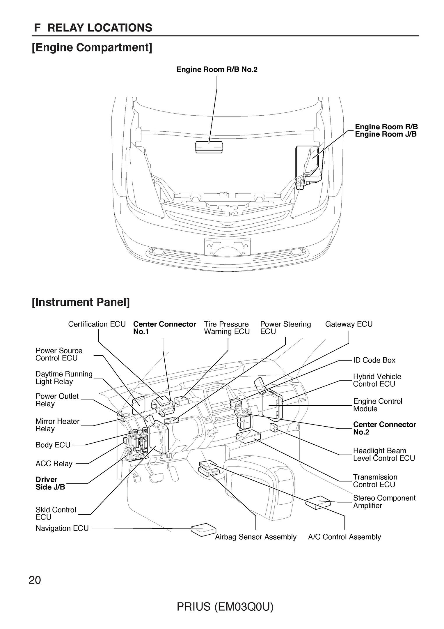 2007 toyota prius repair manual pdf