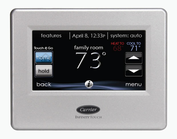 carrier infinity control installation manual
