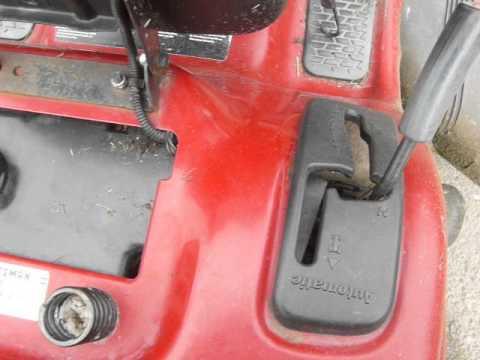 troy bilt lawn tractor repair manual