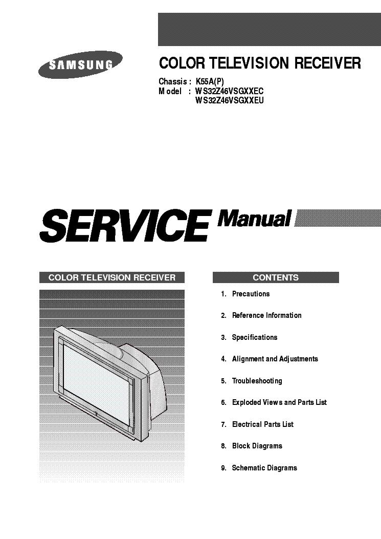 samsung led tv service manual pdf
