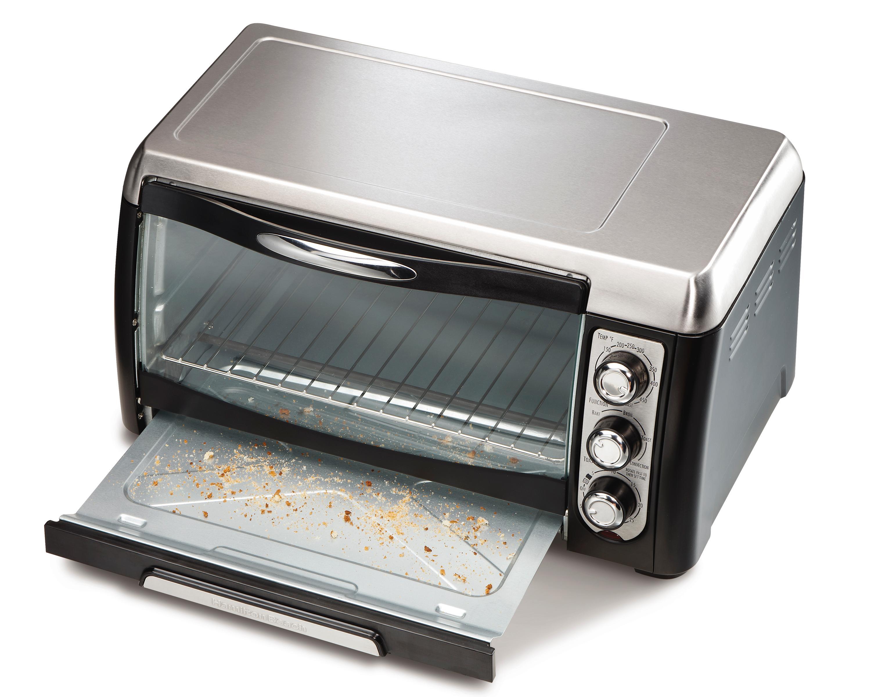 hamilton beach 6 slice toaster oven broiler manual