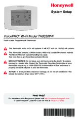 honeywell vision pro 8000 th8320r1003 installation manual