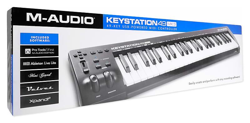 m audio keystation 49 manual