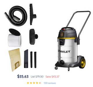 stanley wet dry vac 8 gallon manual