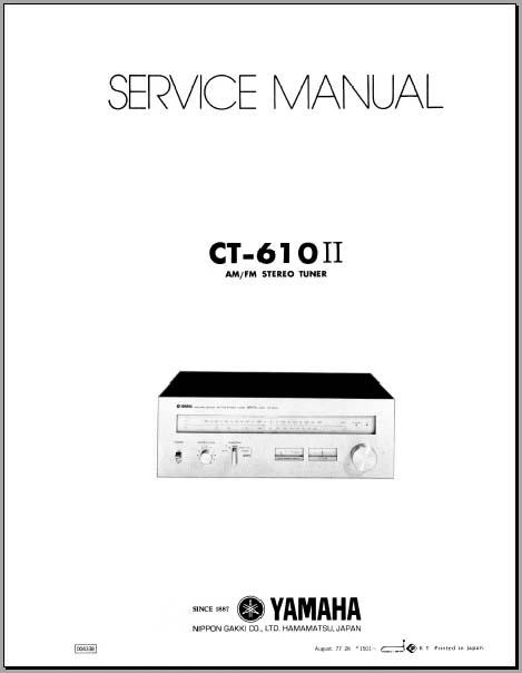 yamaha ca 610 ii manual