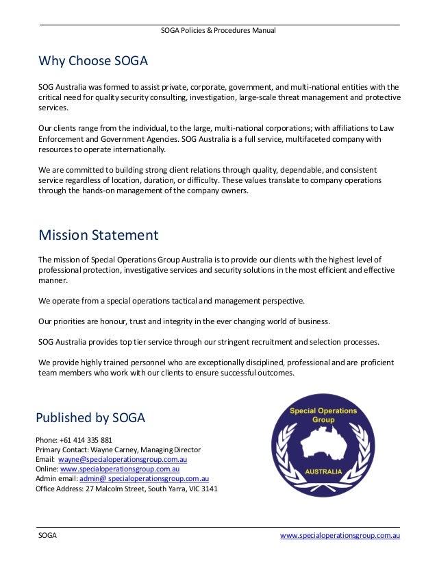 fda manual of policies and procedures