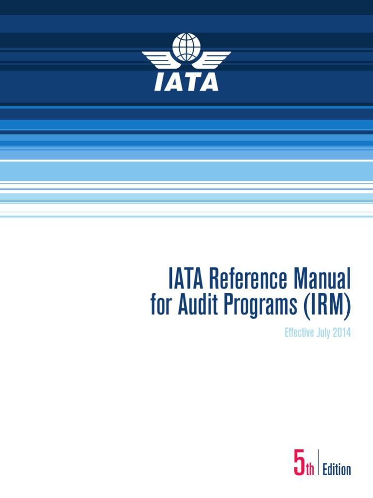 iosa standards manual edition 10