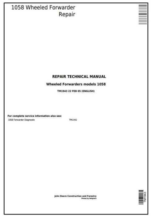 john deere 1010 service manual pdf
